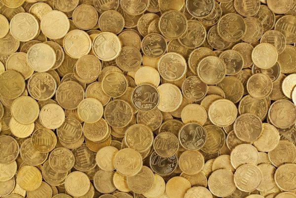 Pièce de monnaies Euros 20 et 10 centimes