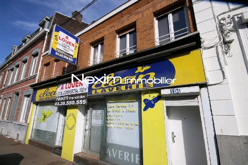 Locaux commerciaux louer nexim immobilier agence for Garage rue du dronckaert roncq