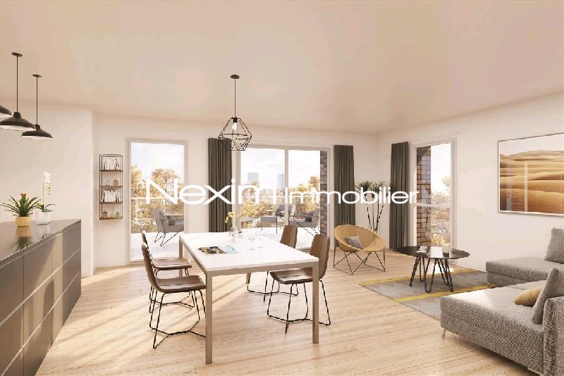 MONS EN BAROEUL Appartement T2