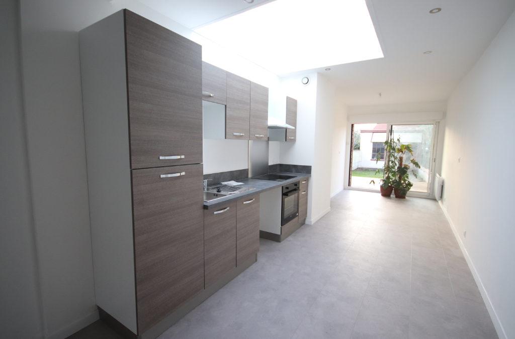 MAISON de 112.2 m², rue Georges Maertens,