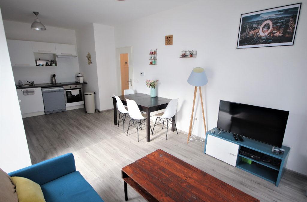 T2 de 43 m², rue Alain de Lille, Porte de Douai