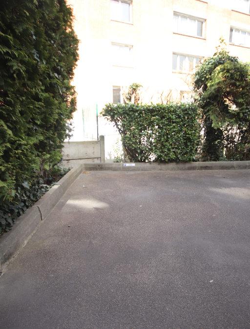 Parking aérien, rue Solférino, Sacré coeur