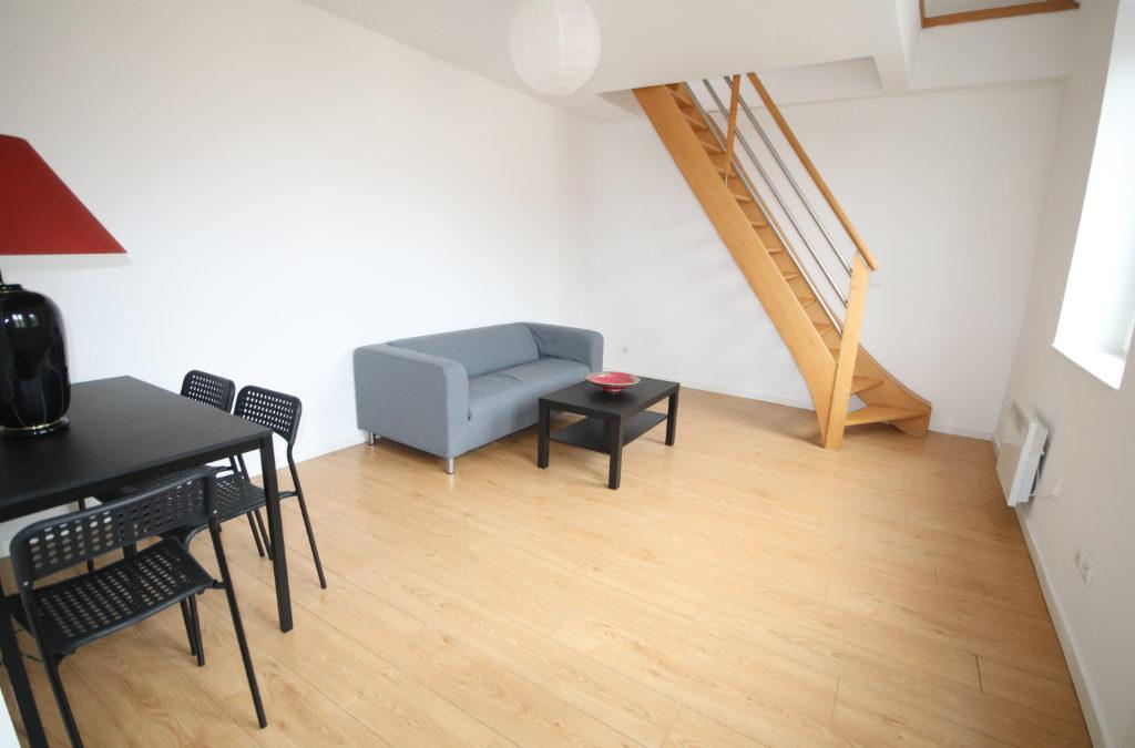 T2 MEUBLÉ de 46.01 m², rue du faubourg de Roubaix