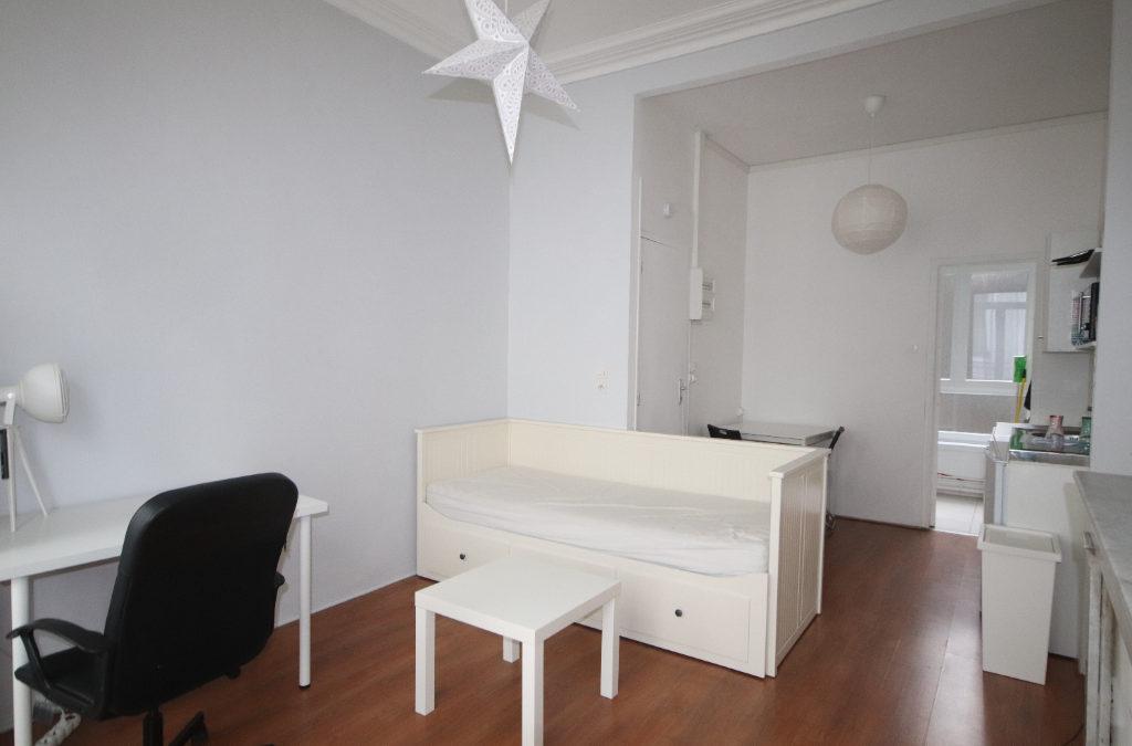 Studio MEUBLÉ de 24 m², rue Boucher de Perthes – Place de Strasbourg